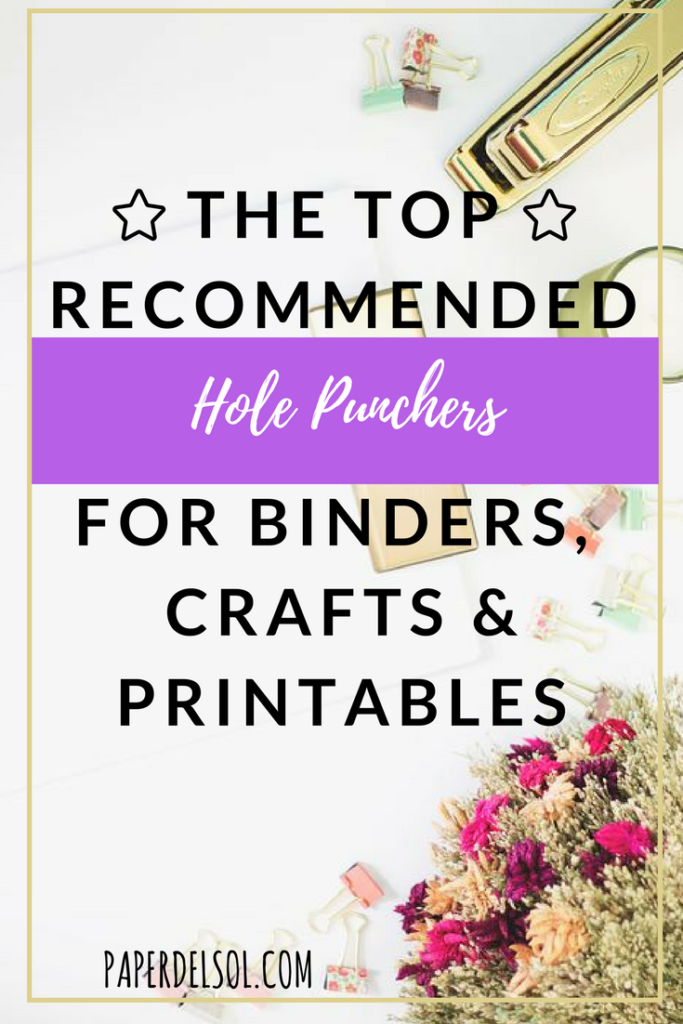 Letter Hole Puncher.The Best Hole Punchers For Printables And Crafting Projects
