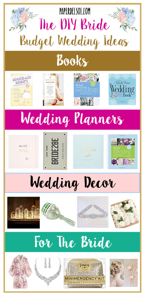 Budget Wedding Planning Gifts For The Diy Bride Paper Del Sol